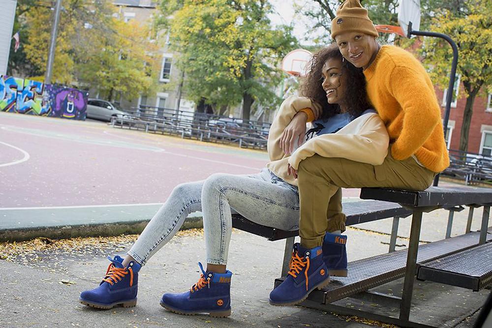 Découvrez les Boots Timberland NBA New York Knicks