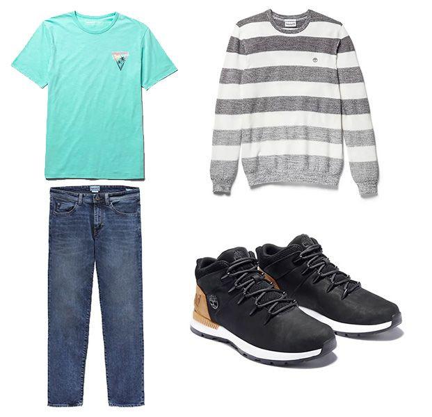 Pour un look décontracté en semaine ou le weekend, découvrez les styles homme Timberland