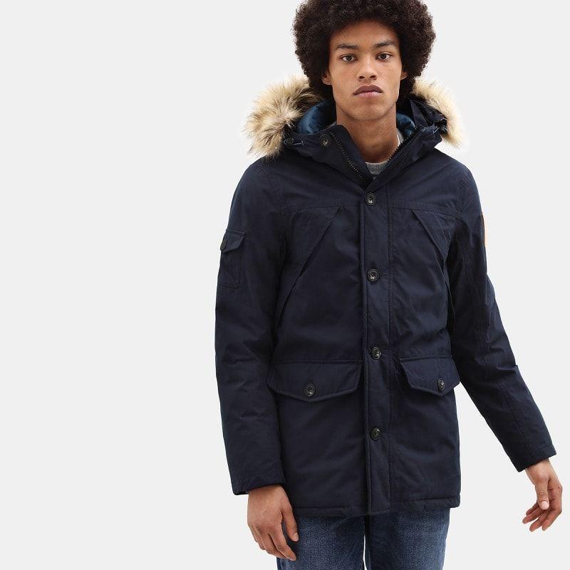 Craquez pour ce manteau long pour homme Timberland