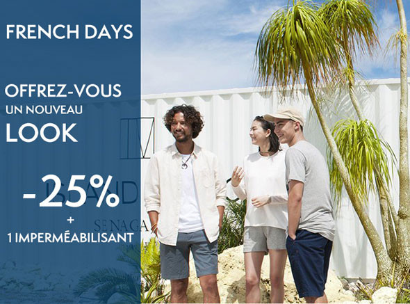 Promotion French Days Timberland 2018