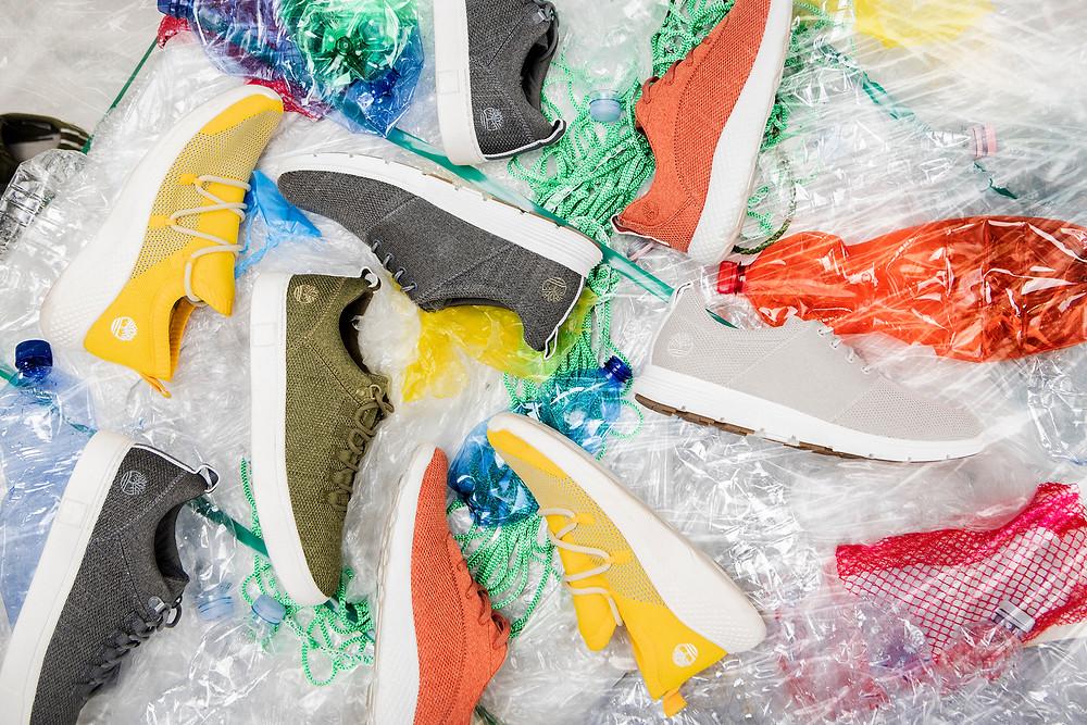Découvrez la technologie Timberland ReBOTL présente sur de nombreux modèles d'éco sneakers
