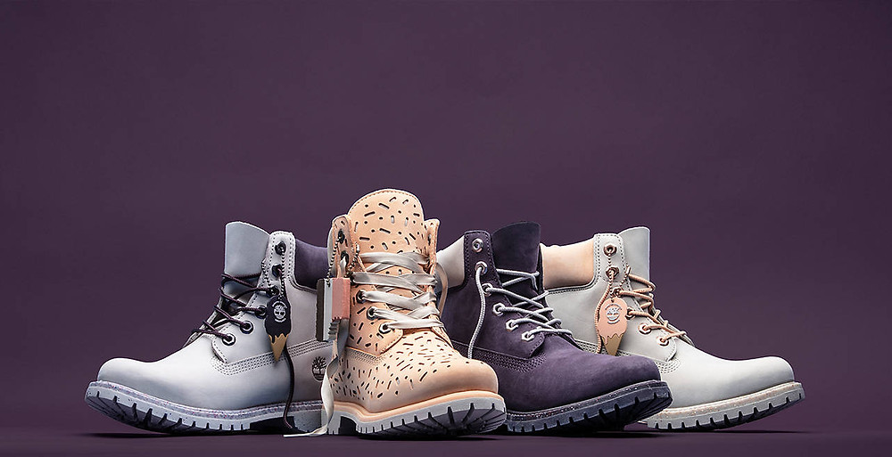 Collection Boots Timberland 6-inch ice cream