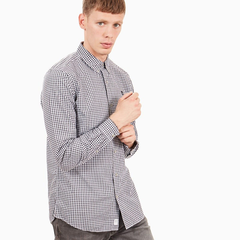Chemise Homme Timberland LS Suncook River Poplin Gingham - Droite