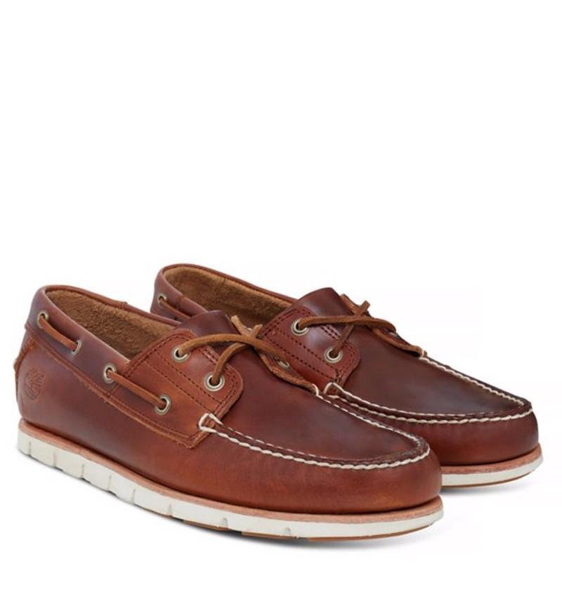 Chaussures Bateau Homme Timberland Tidelands 2-Eye - Marron