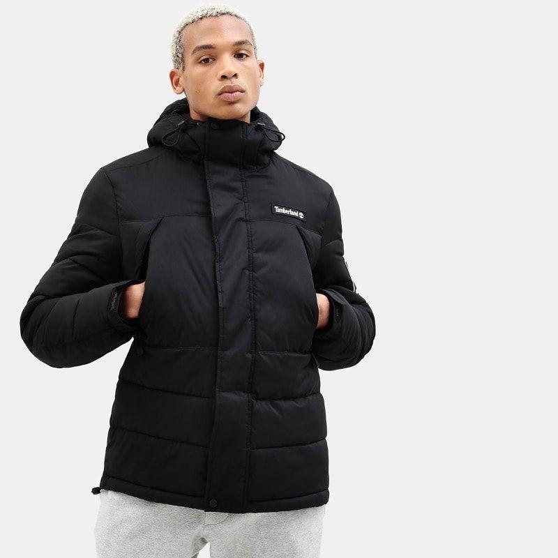 Fondez pour le look sportif de cette veste rembourrée Homme Timberland
