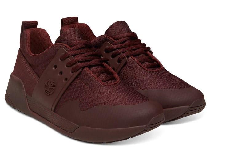 Sneakers Femme Timberland Kiri Up Knit Oxford Bordeaux