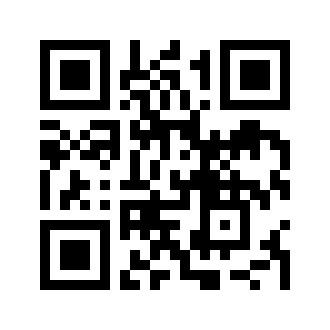 Le QR Code de notre site