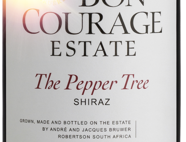 "Bon Courage ""Pepper Tree"" Shiraz"