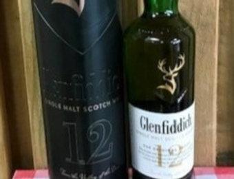 Glenfiddich 12 Year old Malt Scotch Whisky