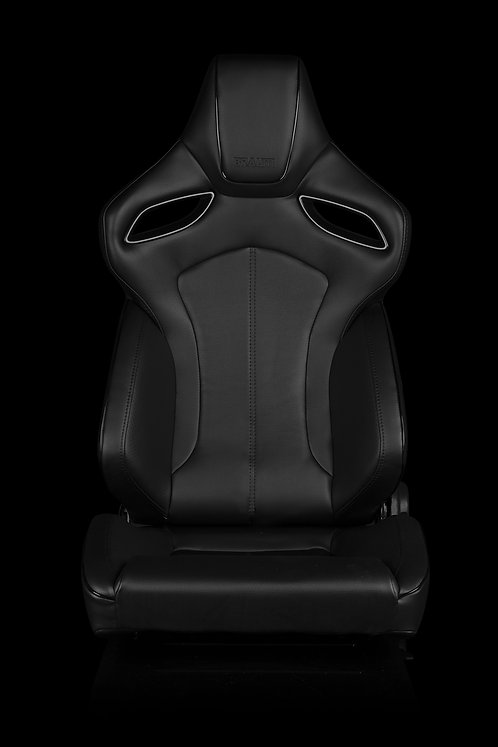 ORUE SERIES RACING SEATS (BLACK LEATHERETTE) – PAIR
