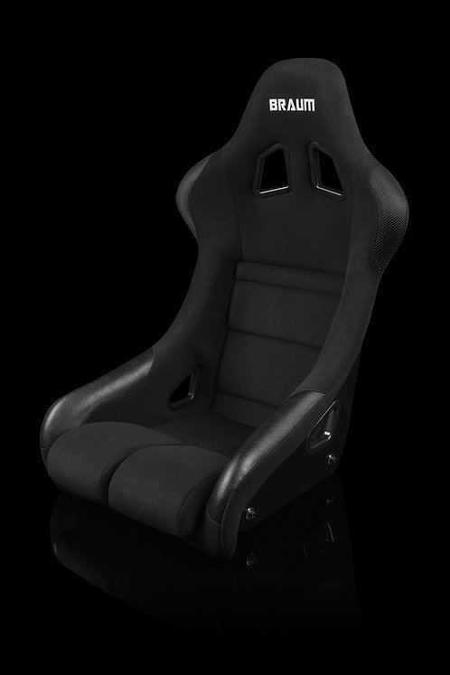 FALCON SERIES FIA APPROVED FIXED BACK RACING SEAT (BLACK CLOTH)