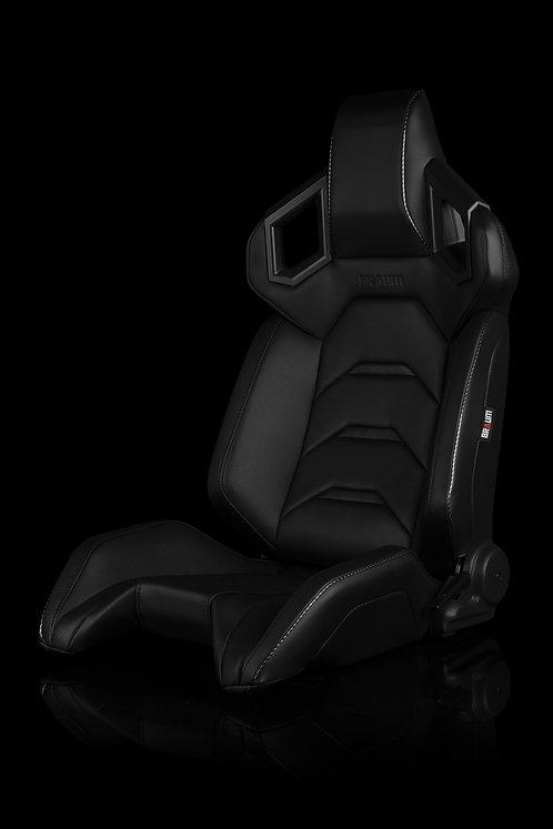 ALPHA-X SERIES RACING SEATS (BLACK) – PAIR