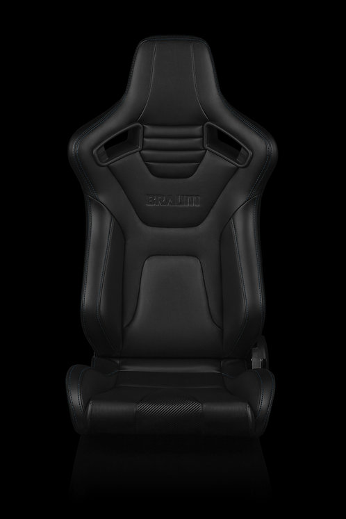 ELITE-X SERIES RACING SEATS (BLUE STITCHING) – PAIR