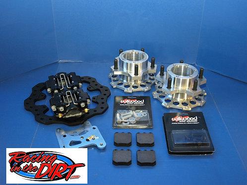RITD D30 Alum Front Hub Kit