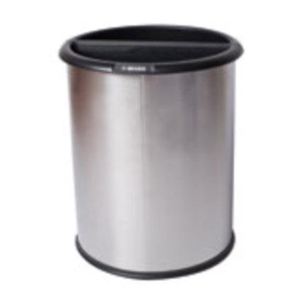 Waste & Recycle Bin Double Divide_Dean