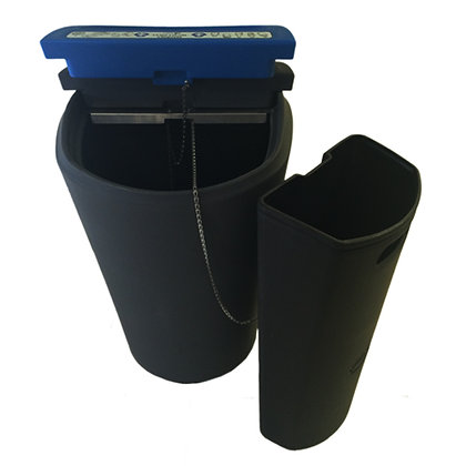 Waste & Recycle Bin Double Sided_Terry