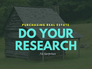 Buying a Home? Research, Research, Research!