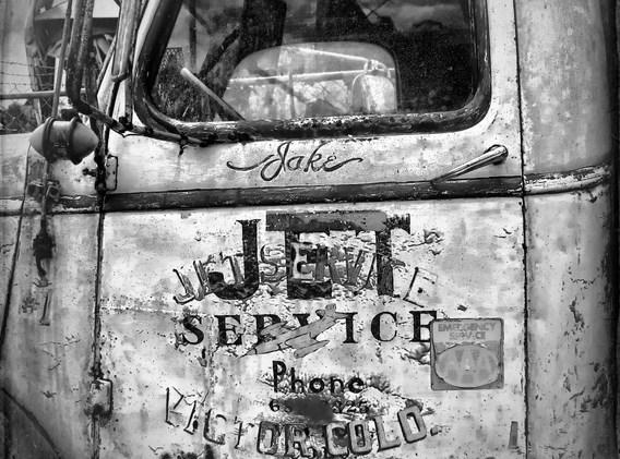 old truck door bw.jpg