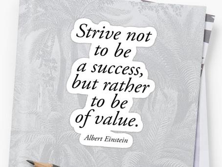 Striving for Success - Tina Zawila