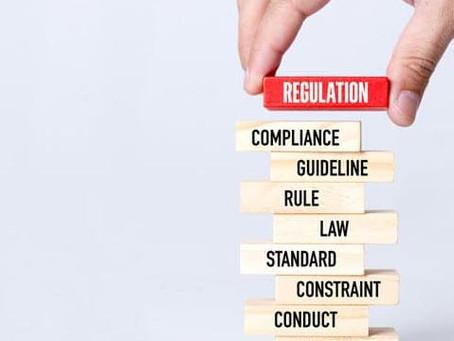When regulation starts to stifle Business.