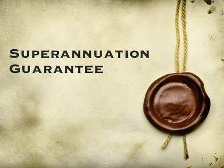 Superannuation Guarantee Sting - Tina Zawila
