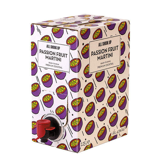 All Shook Up Passionfruit Martini - Bag in Box