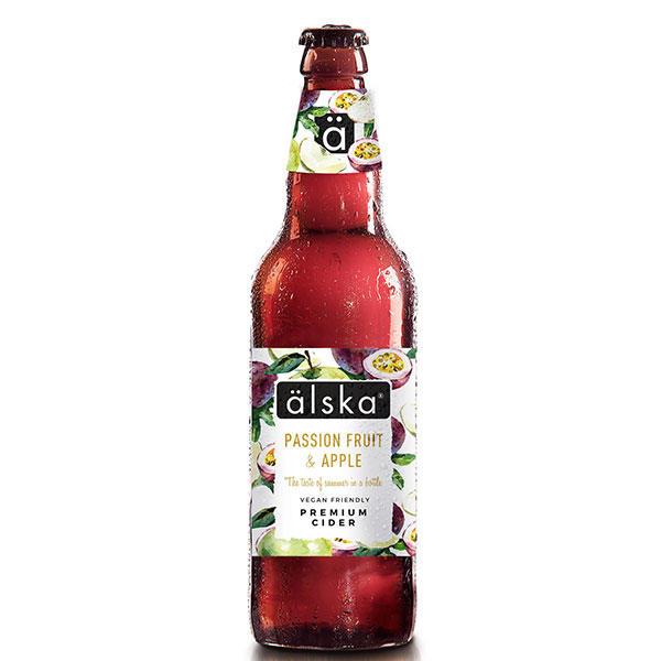 Alska Passionfruit Apple Cider