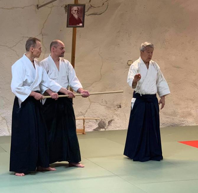 HUOMIO! HARJOITUS PERUUTETTU! Ikeda Sensei 7. Dan, shihan ohjaa  harjoituksen Klaukkalassa pe 10.4.2