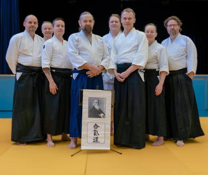 LEIRI SIIRRETTY SYKSYYN 2020! Aikidoleiri Erkki Mäki 5.dan shidoin 14.3.2020.