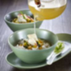 Pumpkin Crabmeat Rice Soup