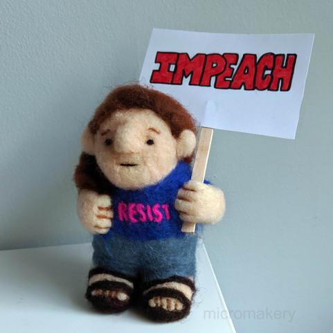Protest Figure