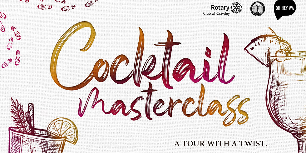Cocktail Masterclass Tour with a Twist - Supporting Sister Project