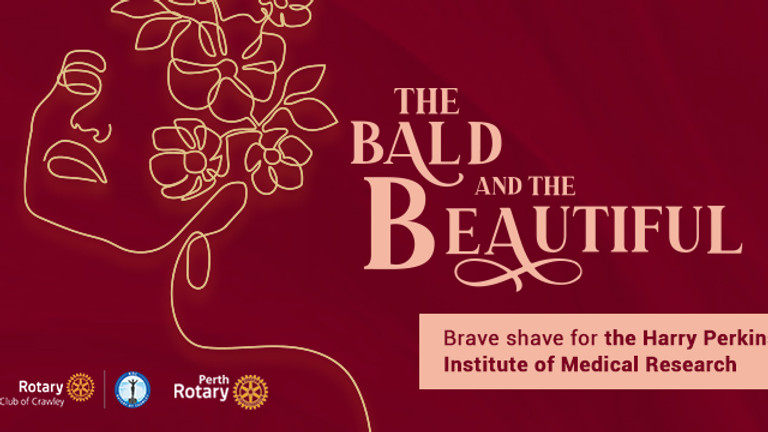 The Bald and the Beautiful Brave Shave for Perkins