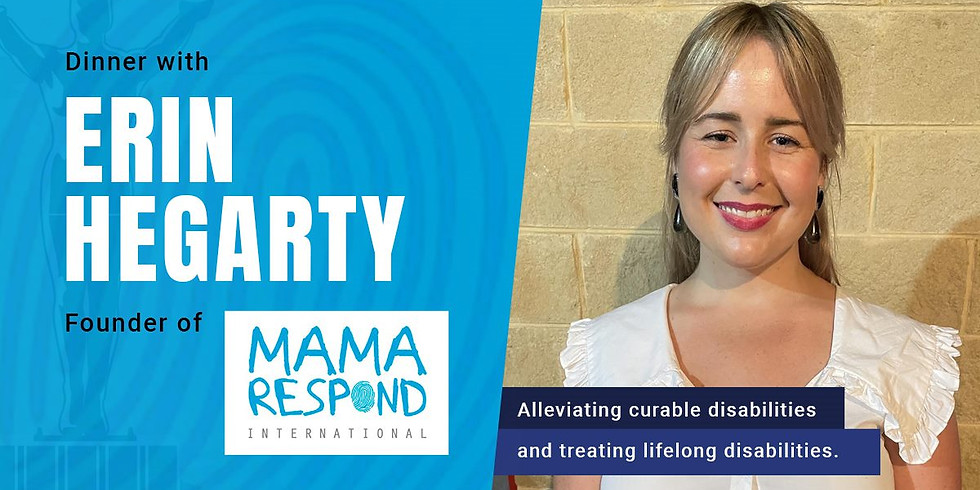 Dinner with Erin Hegarty - Mama Respond
