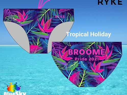 'Tropical Holiday' RYKE Broome Pride Bathers