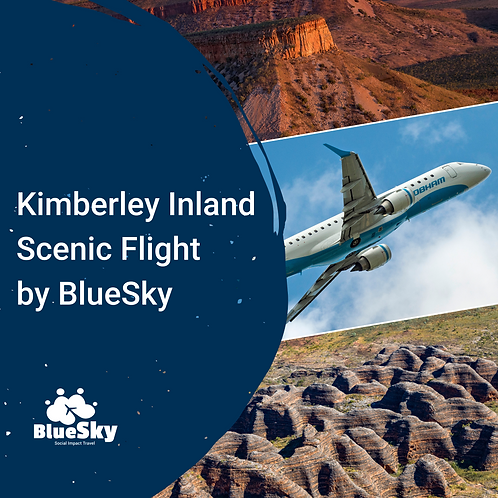 Kimberley Inland Scenic Flight by BlueSky