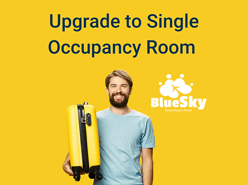 Upgrade to Single occupancy