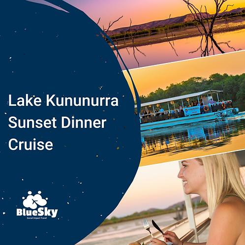 Lake Kununurra Sunset Dinner Cruise
