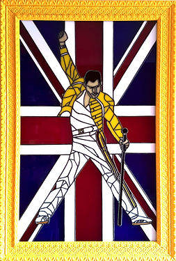Freddy Mercury Stained Glass Courses, Workshops and Classes in London