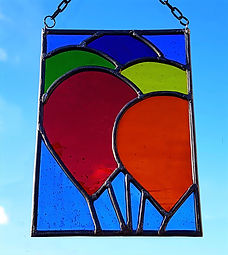 Balloon Beginner's Panel Stained Glass Courses, Workshops and Classes in London