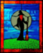 Witch Advanced Panel Stained Glass Courses, Workshops and Classes in London