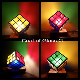 The Cube Lamp Stained Glass Courses, Workshops and Classes in London