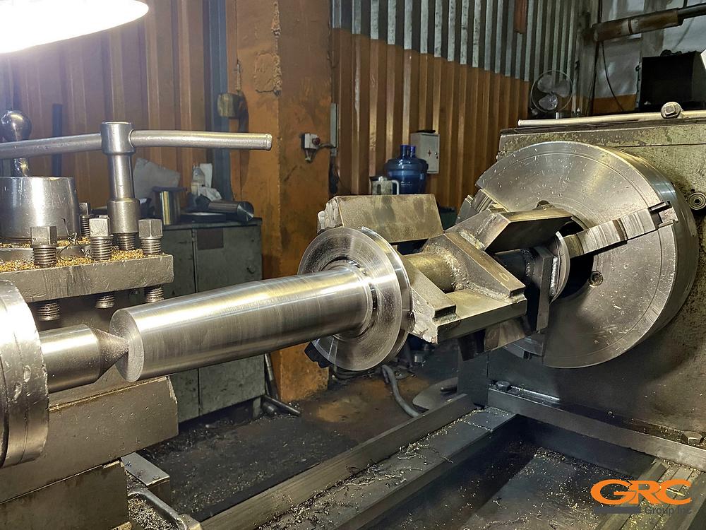 Токарное изготовление ротора дробилки
