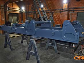 Ремонт внешней секции мачты погрузчика LINDE H60T-02