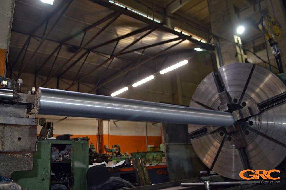 Изготовление оси на ротор