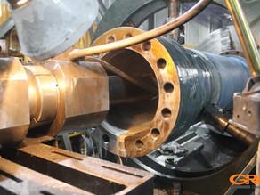 Шлифовка внутреннего диаметра гильзы гидроцилиндра трамбовки LINDEMANN ЕС 825