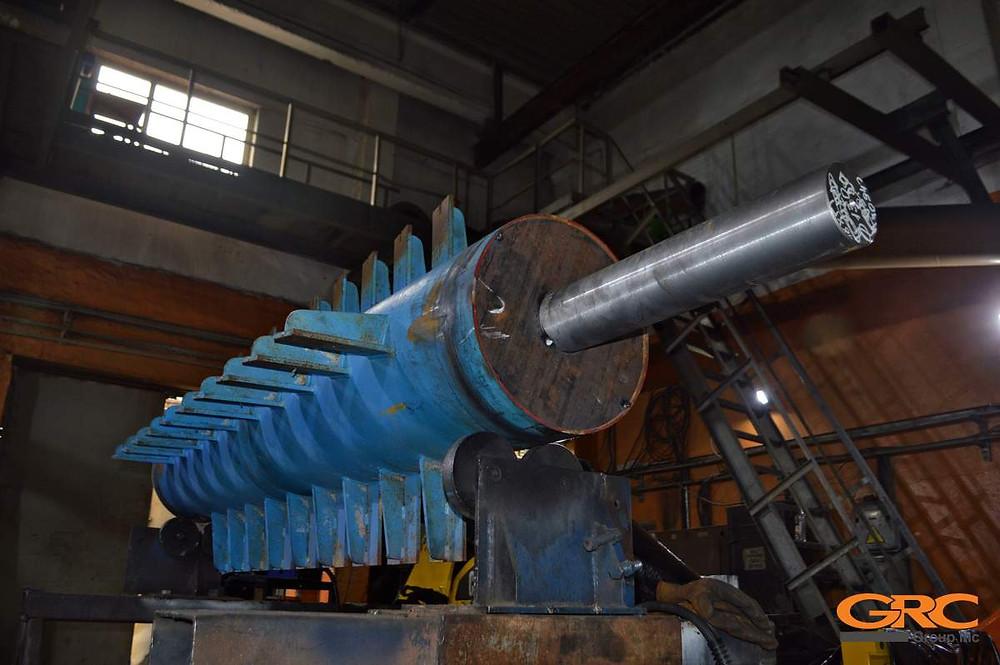 Сборка ротора центрифуги полимеров