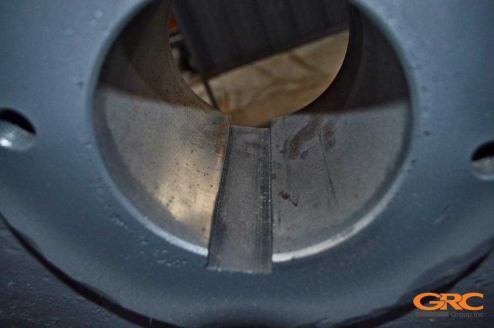 Шкив дробилки после ремонта