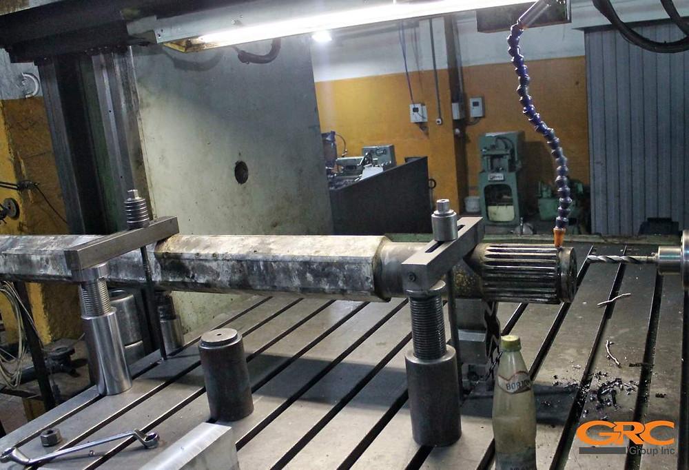 Ремонт вала бетоносмесителя LIEBHERR (Либхер)