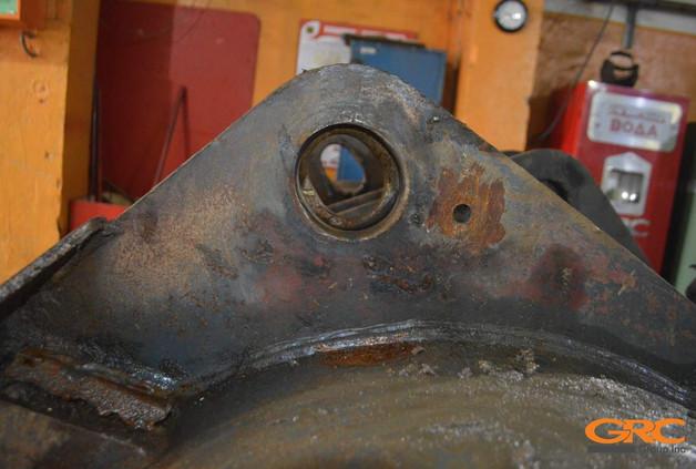 Фотографии ковша фронтального погрузчика до ремонта